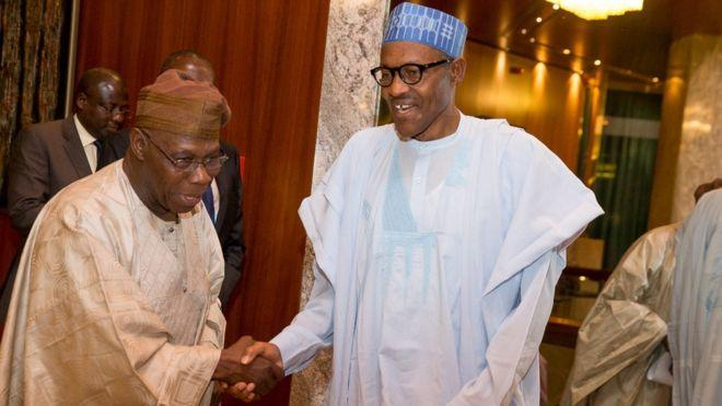 Photo of Obasanjo clashes with ruling party in Nigeria