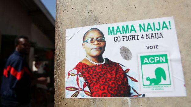 Photo of Oby Ezekwesili, Nigerian female presidential candidate withdraw