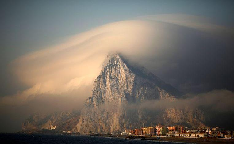 "Photo of EU labels Gibraltar as a British ""colony"", Britons react"