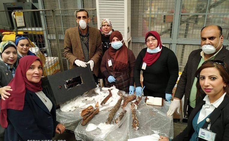Photo of Egyptian customs intercepts remnants of mummies smuggling to Belgium
