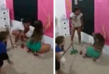 Photo of Angry boy (4) hits his elder sister to behave: She is twerking [Video]