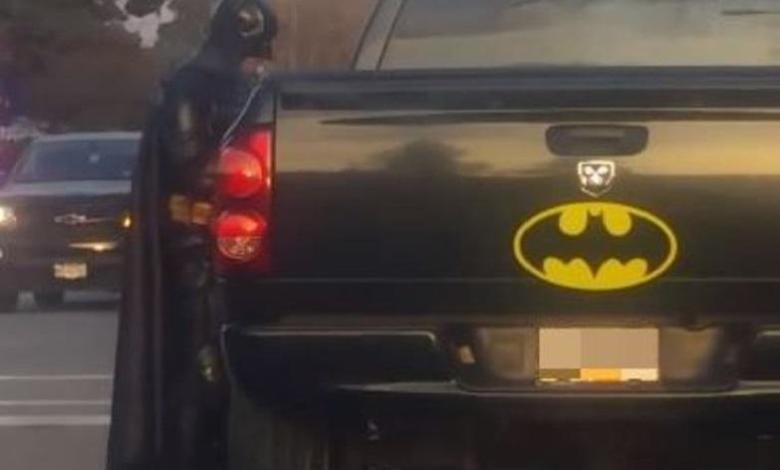 Photo of Batman on 80th birthday humiliated by police during relief action