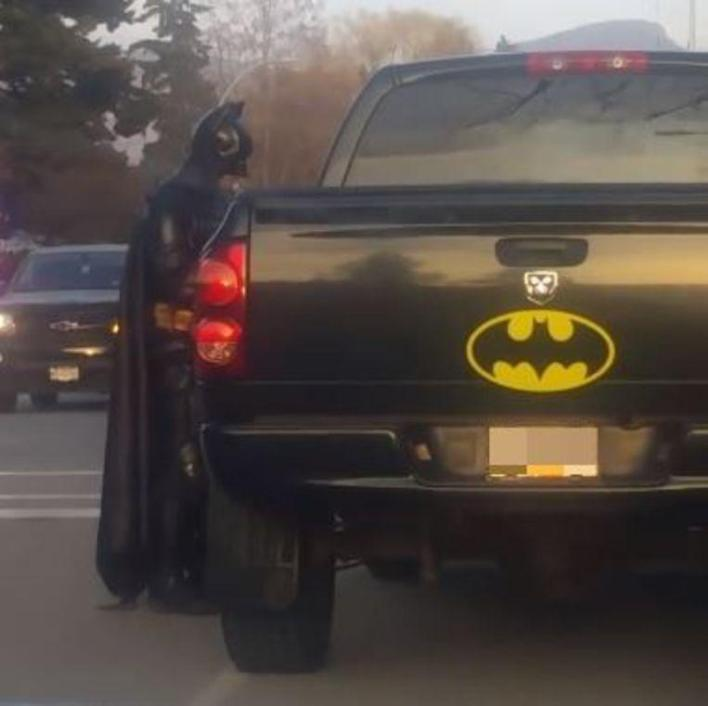 Batman on 80th birthday humiliated by police during relief action