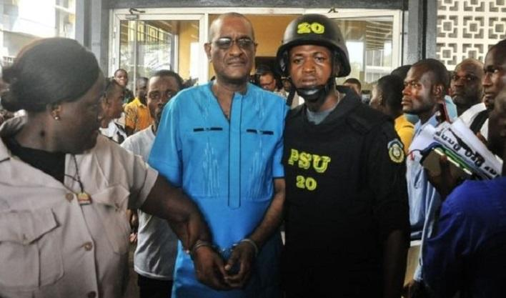 The son of Ellen Johnson Sirleaf arrested in Liberia