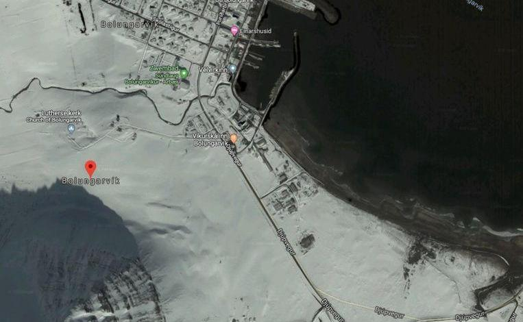 "Photo of Icelandic mayors angry with Google Maps: ""Snow everywhere"""