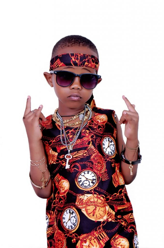 """Stay in school"" - Minister tells youngest rapper, Fresh Kid"