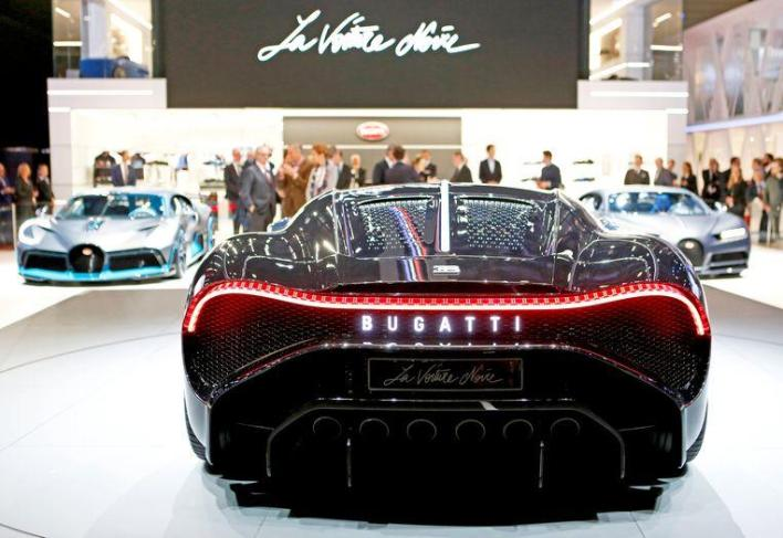 Bugatti sells most expensive car ever for $18.9 million