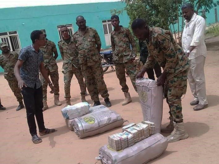 Cash reserves found at Omar Al-Bashir
