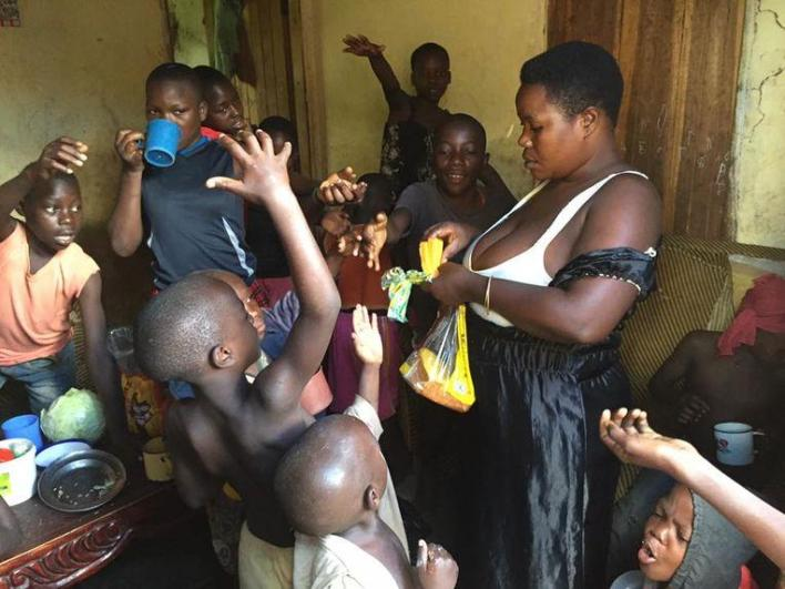"Mariam Nabatanzi gives birth to 44 children: ""I grown in tears"""