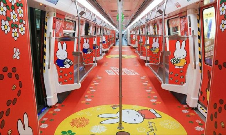 Photo of The Chinese city of Shenzhen has a real Miffy subway