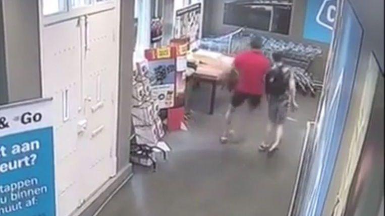 Photo of Man (41) pushes handicapped boy over in supermarket [Video]