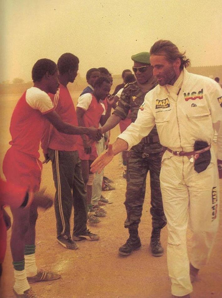 Thierry Sabine humanitarian