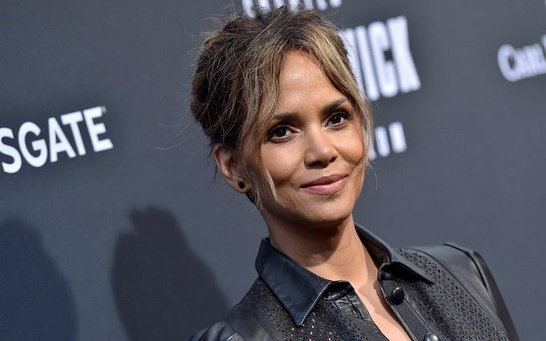 """Halle Berry shares photo without bra: """"leveled up circa' 66"""""""