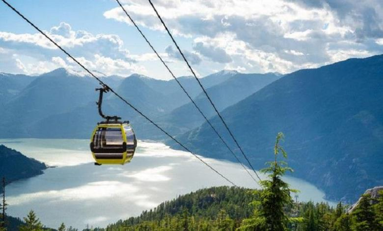Photo of Sabotaged Canadian cable car: thirty cabins crash down
