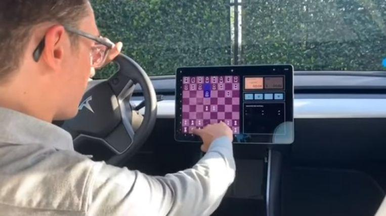Photo of You can now play chess against your Tesla