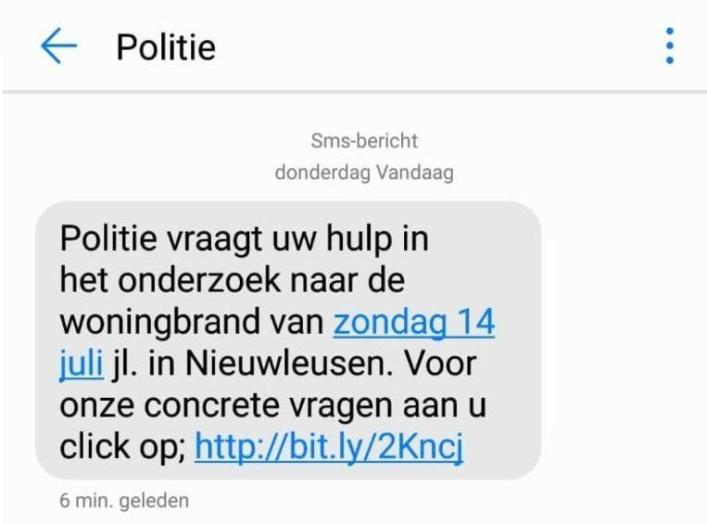 Dutch police accidentally send pornolink in 'SMS-Bomb' of deadly house fire