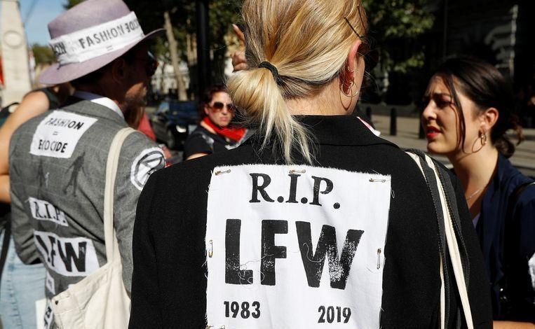 Photo of Climate activists hijack London fashion week