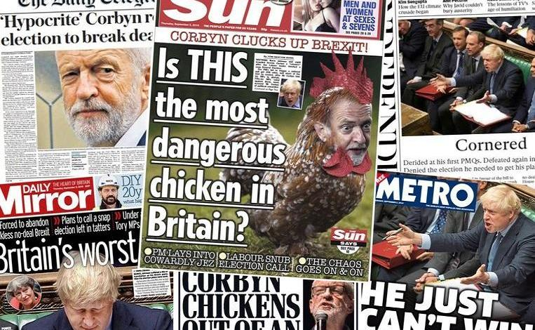 "Photo of ""Is this the most dangerous chicken in Britain?"""