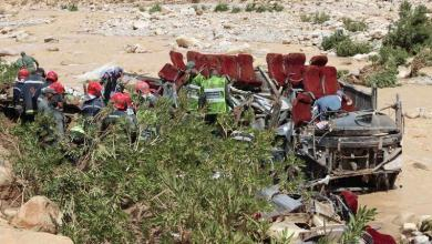 Photo of 17 killed and 30 injured in a bus accident in Morocco