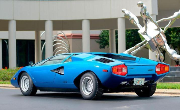Rare Lamborghini recovered in container after forty years