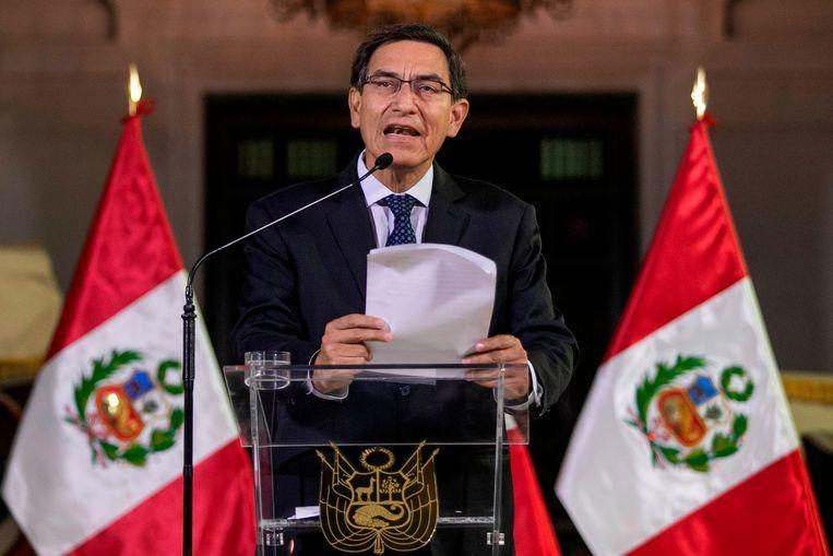 Who is the boss in Peru? Parliament suspends president