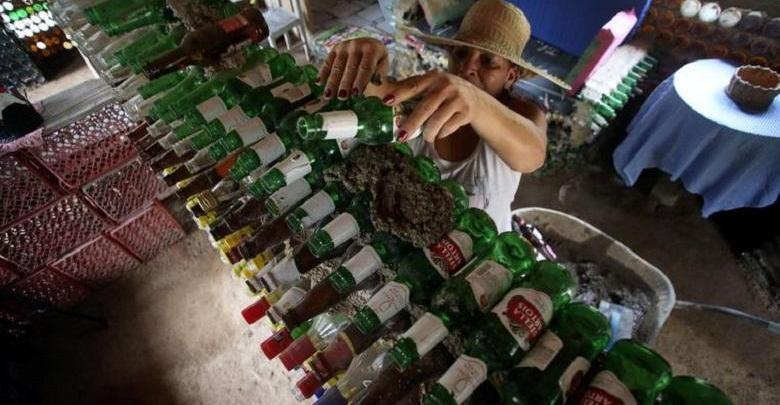 Photo of Unseen recycling: home of 6,000 discarded bottles