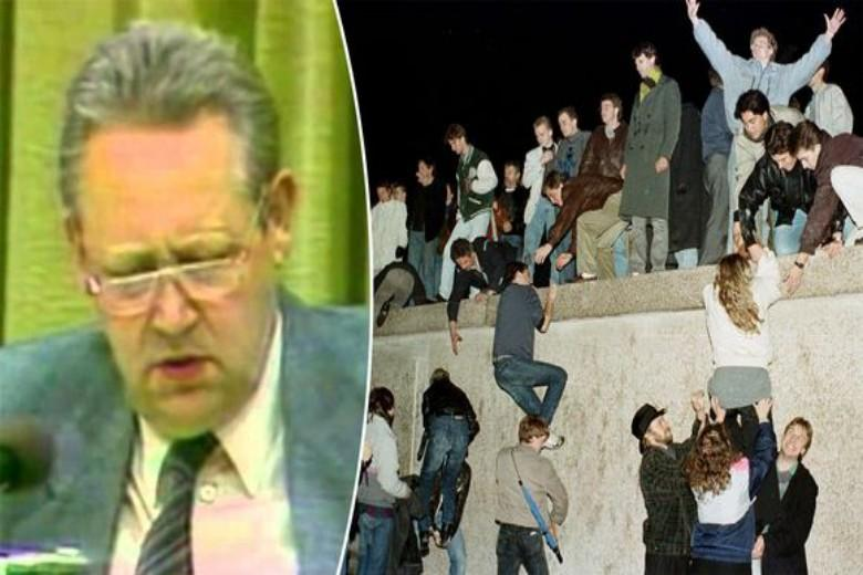 How the Berlin Wall fell by accident: after the mistake of one man