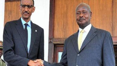 "Photo of Kagame to Museveni: ""treat your neighbor as you want to be treated"""
