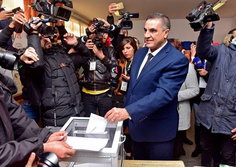 Historically low turnout in elections in Algeria