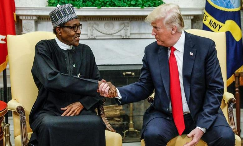 Photo of Trump threatened on twitter by a Frenchman posing as Buhari