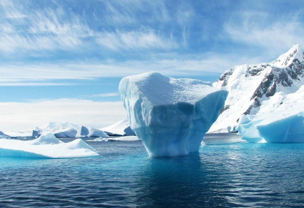 Glacier in western Antarctica