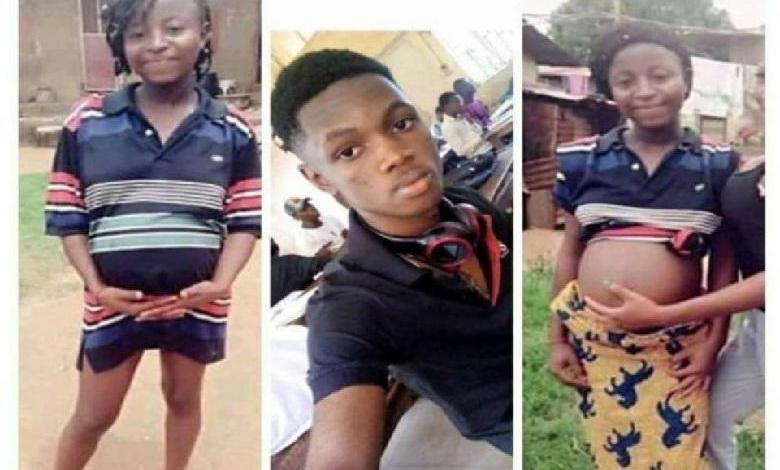 "Photo of ""I'll soon be a daddy"": Boy 18 proudly pregnant 16-year-old girl"