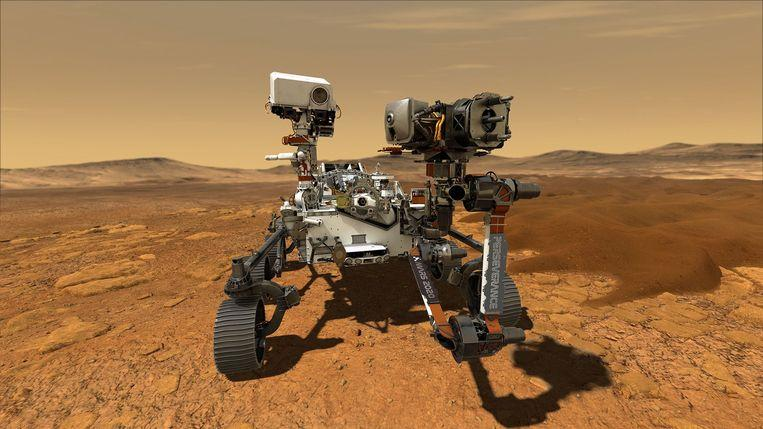 """Photo of Next robot jeep to Mars has a name: """"Perseverance"""""""