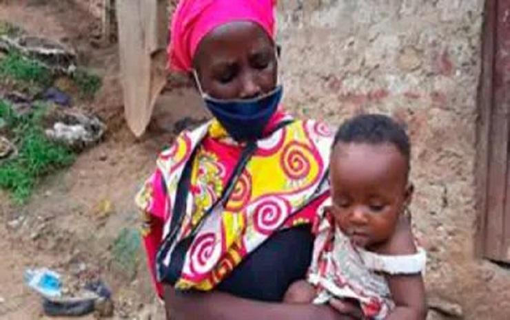 Photo of Relatives try stealing donated money from mum who boiled stone for starving children