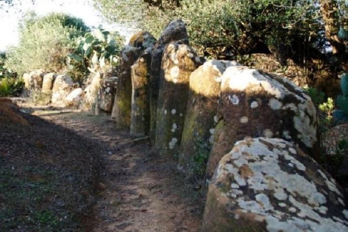 Stone circle at Mzoura
