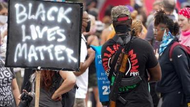 Photo of Man shot dead at Black Lives Matter in Kentucky