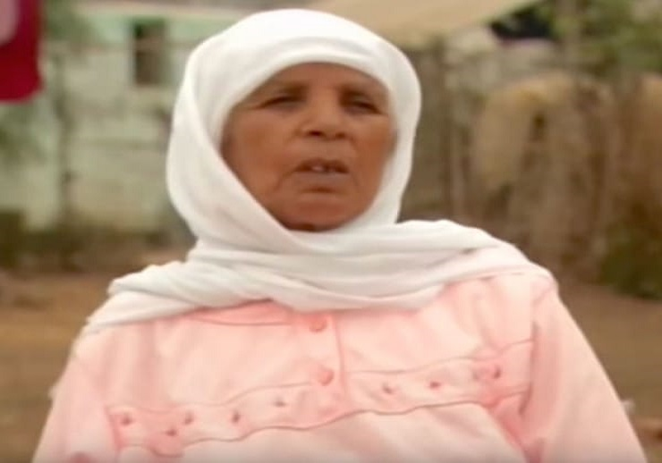 Zahra Aboutalib 70-years-old woman who gave birth to a stone baby