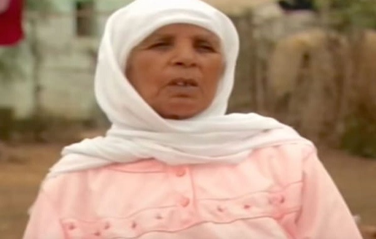 Photo of Zahra Aboutalib 70-years-old woman who gave birth to a stone baby