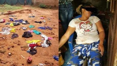 Photo of Husband tries burning his wife and stepdaughter in Nigeria