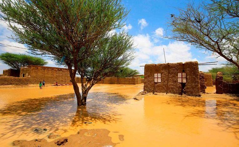 Photo of 10 dead, 3000 houses damaged and destroyed by floods in Sudan