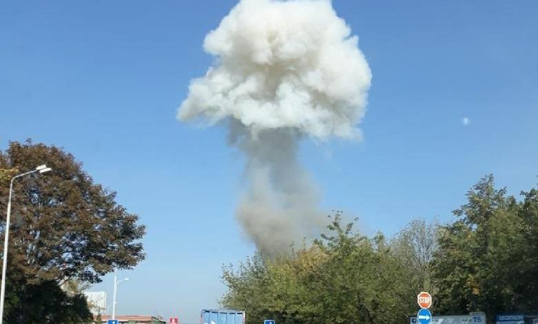 Photo of Several explosions rock a Czech city
