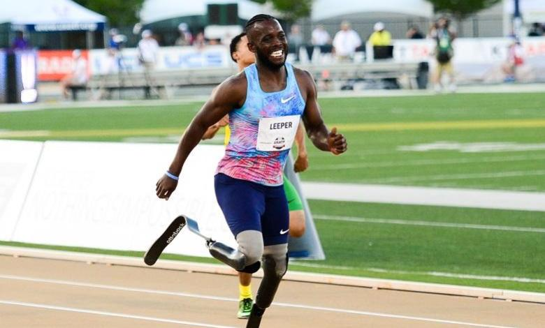 "Photo of Athlete without lower legs fights ""racist"" verdict: He will run faster"