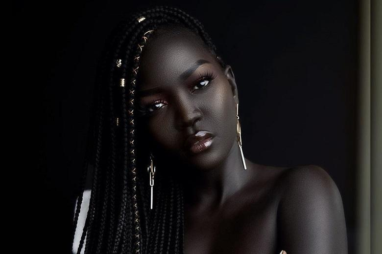 Black is beautiful: Who is Nyakim Gatwech, Queen of the Dark?