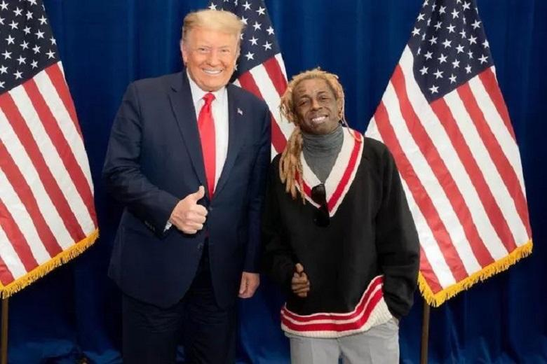 The biggest loser this election: girlfriend puts Lil Wayne on the street after supporting Trump
