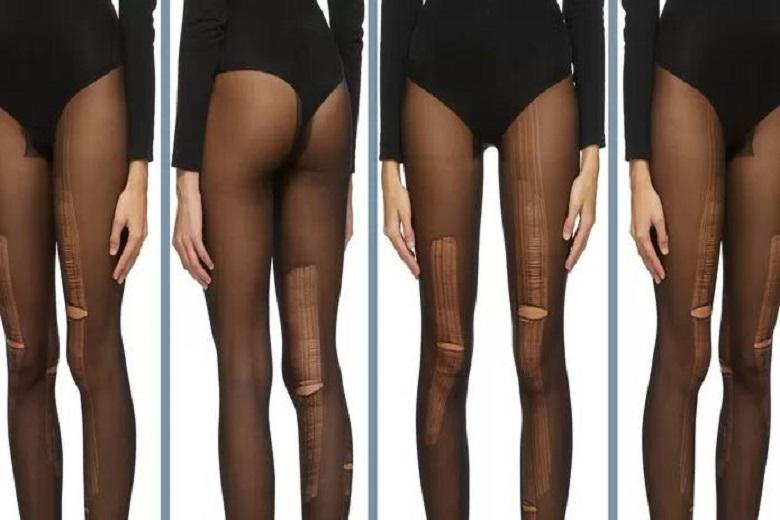 Stairway or tore tight? Gucci sells tights with ladders