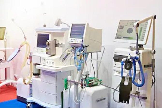 Ten African countries have no medical ventilators