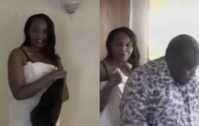 Kenyan Pastor caught sleeping with his friend's wife [Video]