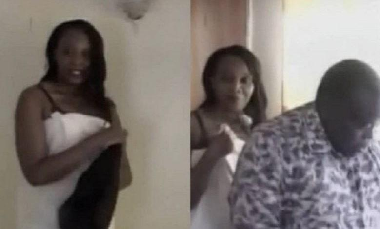 Photo of Kenyan Pastor caught sleeping with his friend's wife [Video]