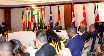 Canada-Cameroon: Signing ceremony of a  Memorandum of Understanding (MOU)