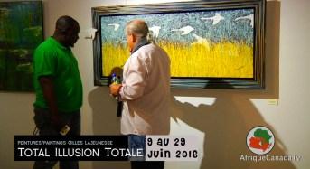 Arts: Exposition illusion totale de Gilles Lajeunesse à l'Espace Mushagalusa